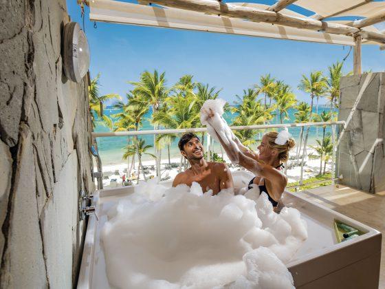 Foam in Punta Cana