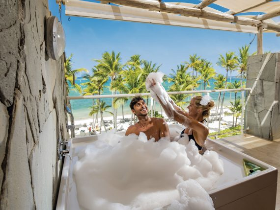 Foam in Punta Cana