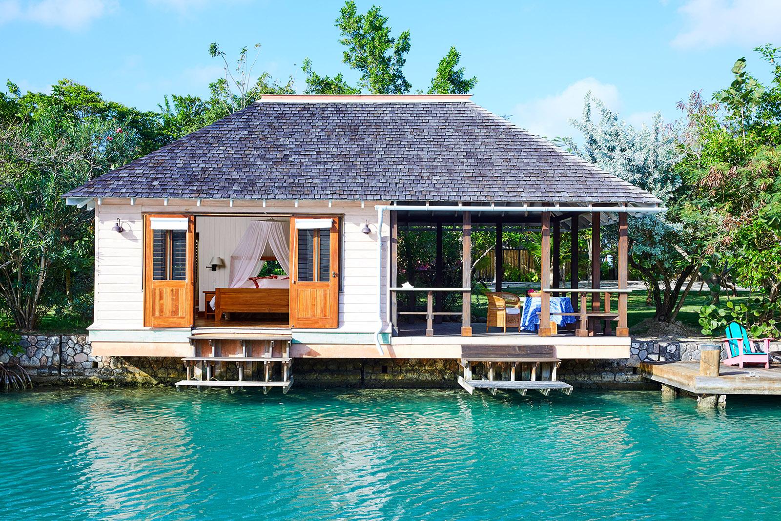 GoldenEye, Oracabessa, Jamaica Lagoon Cottage