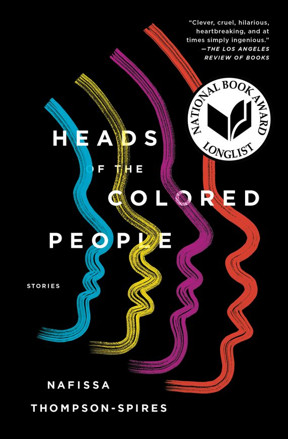 heads of colored peoples