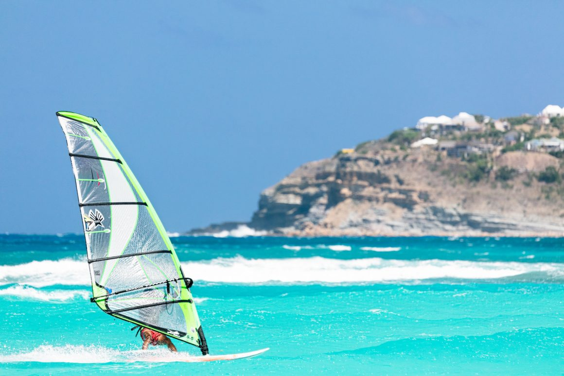St Bart Windsurfing